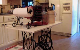 Старая швейная машинка: как применить на даче, оригинальные идеи