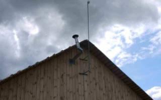 Как установить антенну своими руками, крепление на щитовом доме