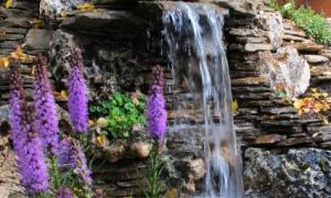 Фонтаны из камня: как сделать оригинальный садовый водоем своими руками